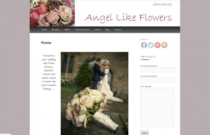 Angel Like Flowers