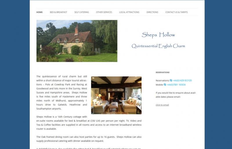 Sheps Hollow Bed & Breakfast